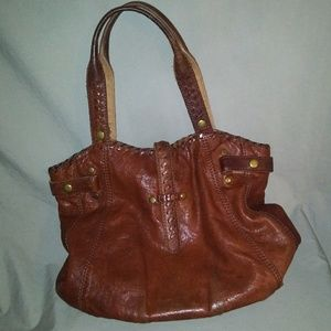Lucky Brand Purse. 100% Lamb Leather. Brown.
